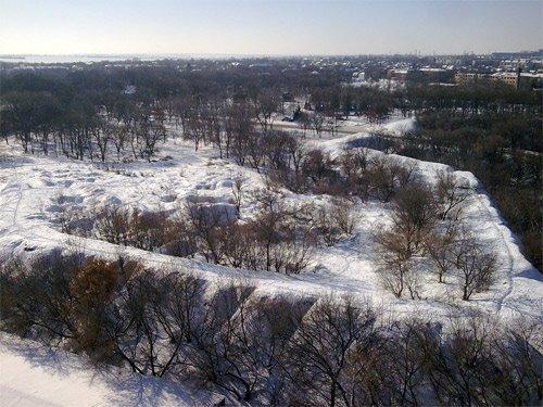 бастион крепости Св. Елисаветы